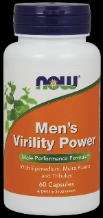 Men's Virility Power (60 Caps) NOW Foods