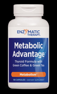 Metabolic Advantage (180 caps) Enzymatic Therapy