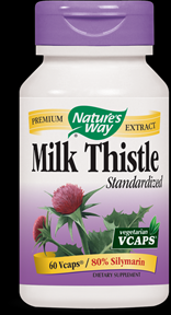 Milk Thistle, Standardized (60 caps) Nature's Way