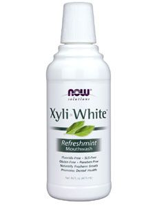 XyliWhite Mouthwash (16 oz.) NOW Foods