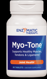 Myo-Tone (80 tabs) Enzymatic Therapy
