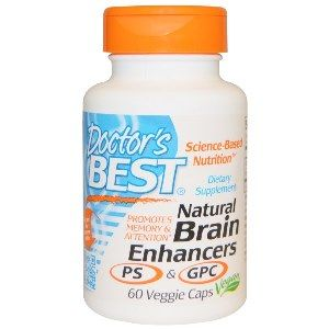 Natural Brain Enhancers (60 v-caps) Doctor's Best