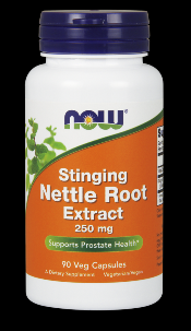 Nettle Root Extract 250 mg Vegetarian (90 vcaps) NOW Foods
