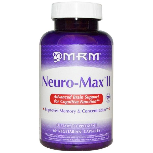 Neuro-Max II (60 Vcap) Metabolic Response Modifiers