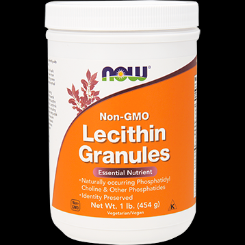 Lecithin Granules Non-GMO (1 lb.) NOW Foods