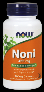 Noni 450 mg Hawaiian (90 vcaps) NOW Foods