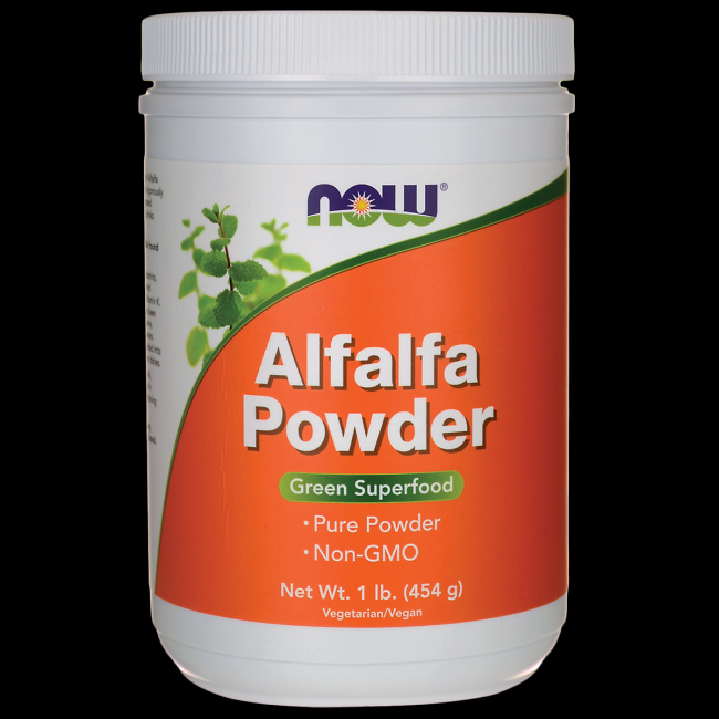 Alfalfa Powder  (1 lb.) NOW Foods