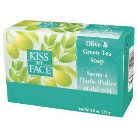 Olive & Green Tea Soap (8oz.) Kiss My Face