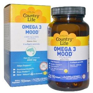 Omega 3 Mood (90 Softgel) Country Life