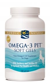 Omega-3 Pet for Dogs & Cats (180 caps)* Nordic Naturals
