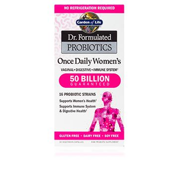 Doctor Formulated Probiotics for Women (30 Vcaps)* Garden of Life