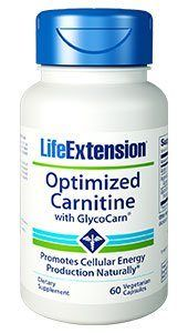 Optimized Carnitine with Glycocarn (60 vegetarian capsules)* Life Extension