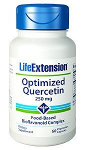 Optimized Quercetin (60 vegetarian capsules)* Life Extension