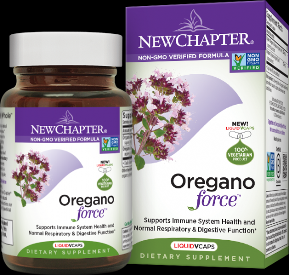 Oregano Force (30 Softgel)* New Chapter Nutrition