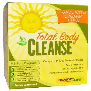 Organic Total Body Cleanse (3-part kit)* Renew Life