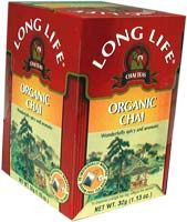 Chai Tea, Organic Long Life Tea