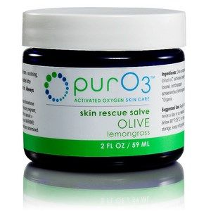 Ozonated Olive Oil with Lemongrass (2 oz / 59 ml) purO3