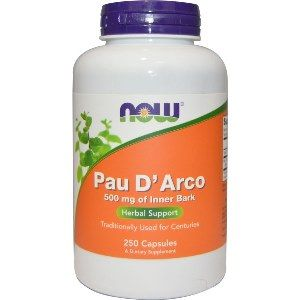 Pau D' Arco 500 mg of Inner Bark (250 Caps) NOW Foods
