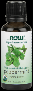 Organic Peppermint Oil   (1 oz) NOW Foods