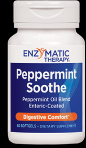 Peppermint Soothe (60 enteric coated softgels) Enzymatic Therapy