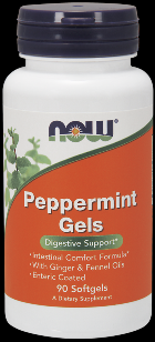 Peppermint Gels (90 Gels) NOW Foods