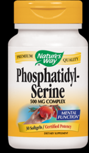 PS PhosphatidylSerine (100mg  60 gels) Metabolic Response Modifiers