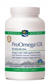 ProOmega LDL* (180 Sgels) | 1000 mg Nordic Naturals