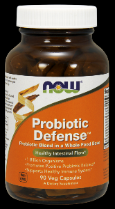 Probiotic Defense (90 Vcaps) NOW Foods
