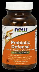 Probiotic Defense (90 Vcaps) NOW Foods