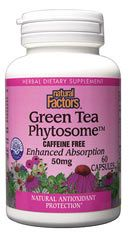 Green Tea Phytosome 50mg (60 Caps)* Natural Factors