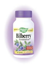 Bilberry, Standardized (90 caps) Nature's Way