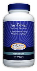 Air Power Guaifenesin Expectorant (100 tabs) Enzymatic Therapy