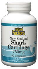 Shark Cartilage New Zealand (90 caps) Natural Factors