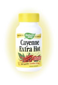 Cayenne, Extra-Hot Formula (100 caps) Nature's Way