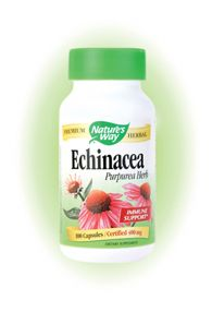 Echinacea Purpurea Herb (100 Caps) Nature's Way