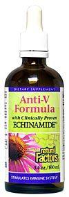Anti V Formula (3.4oz)* Natural Factors