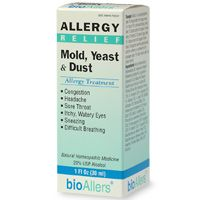 Mold, Yeast & Dust Allergy Treatment Unflavored (1oz) BioAllers