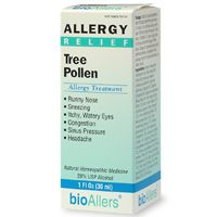Tree Pollen Allergy Treatment Unflavored (1oz) BioAllers
