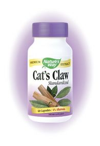 Cat's Claw, Standardized (60 caps) Nature's Way