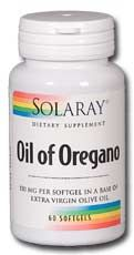 Oil of Oregano (60 caps) Solaray Vitamins