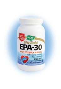 EFA Gold - EPA-30 (90 caps) Nature's Way