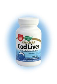 EFA Gold - Cod Liver (100 caps) Nature's Way