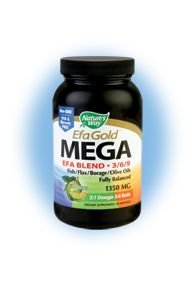 EFA Gold - Mega Omega 369 Blend (90 caps) Nature's Way