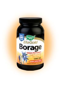 EFA Gold - Borage (60 caps) Nature's Way