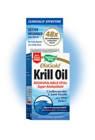 EFA Gold - Neptune Krill Oil (60 softgels) Nature's Way