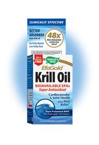 EFA Gold - Neptune Krill Oil (60 softgels) Nature's Way