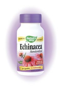 Echinacea Extract (60 caps) Nature's Way