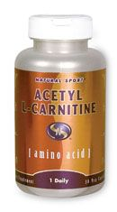 Acetyl L Carnitine (30 vcaps) Natural Sport