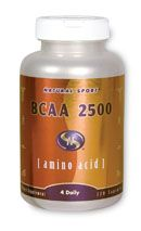 BCAA 2500 (120 Caps) Natural Sport