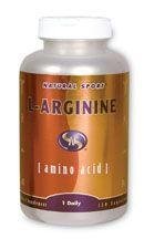 L-Arginine (120 Caps) Natural Sport